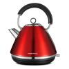 Британский трения летать (Morphyrichards) MR7076A 304 из нержавеющей стали чайник электрический чайник белый чайник электрический kitchenaid ktst20sbst