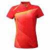 Li Ning Li-Ning AAYH234-1 бадминтона одежда женская рубашка белый / яркий неоновый XL