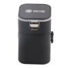 Исполнительный директор (EO) CS-007S Black Global Business Travel Adapter Socket USB аккумуляторная розетка, адаптер