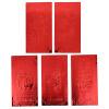 Eva Love Platinum New Year Fuzi Tongli Lee - свадебный красный конверт с подарочной сумкой для подарков, большой 5 смешанных с 25 нагруженными красными