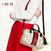CHCH female single shoulder bag brand new 2017 portable oblique Boston bag lady pillow bag bag, leisure fashion
