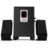 Современный (HYUNDAI) CJC-112 2,1 мультимедиа акустическая система IC импорта чип / высокой мощности / Wooden Speaker Black hyundai h ha500 акустическая система