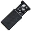 Feilai Ши FEIRSH тянуть-фиолетовый свет 60 может быть Лупа с подсветкой бумажные деньги 30 раз увеличительное стекло ювелирные изделия оценка FE12 китайский черный дым
