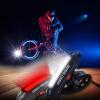 Велосипед Глава Передний Задний Задний светодиодный свет USB аккумуляторная 100 люмен + бампер задний ваз 2112 купить в киеве