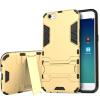 KOOLIFE OPPOR9S телефон оболочки защитный рукав популярные бренды популярные бренды подставки с подставкой подходящей для Oppo r9s Броня серии - Тиран золота