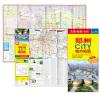 2017郑州CiTY城市地图(防水 耐折 撕不烂地图) 2017西安city城市地图(随图附赠西安公交线路速查手册)