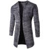 Длинные Досуг Кардиган Мужские пальто свитера