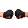 адидас адидас перчатки импортирован гантелей фитнес скольжения половину пальца перчатки зеленый M код