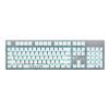 AKKO AKS механическая клавиатура 104 клавишы полностью клавиатура Игровая клавиатура подсветка-источник света белый  Cherry Black cilek стул капитана cilek black pirate арт aks 8461