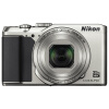 Никон (Nikon) Coolpix A900 компактная цифровая камера (датчик 20.29 млн пикселей CMOS, 35x оптического зума 4K Ультра HD беспроводной передачи) Серебро профессиональная цифровая slr камера nikon d3200 18 55mmvr