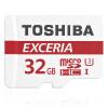 Micro SD карта памяти Toshiba EXCERIA M302-EA, 64GB, Micro SDXC, UHS-I, Class 10 toshiba exceria m301 micro sd class 10 uhs i 48mb s memory card 16gb 32gb 64gb 128gb