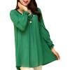 CT & F Женщины длинные рукава рубашки женщин вскользь шифоновую блузку ct