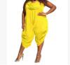 крупных женщин размер женская одежда цельный брюки Rompers