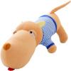 Подавленная собака свинья плюшевой игрушки кукла Дня Святой Валентин подарок праздник подарки милая синее платье сонной собака Papa масса собаки даже хвост 85см валентин пикуль николаевские монте кристо