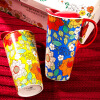 Любите меня, люби зеленый (Evergreen) Набор чашки кружки чашки кофе крышка керамической чашку для рельефной чашки Slim-класс керамических подарочной коробки