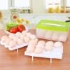 [Супермаркет] Haixin Jingdong Ха Хины коробка пластиковых яичных коробки холодильного холодильник ящик для хранения хранения ящика для хранения, чтобы положить яйцо яйцеклетки яйцо лоток загружены два