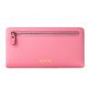 Г-жа Сент Тиффани (SENDEFN) длинный отрезок молния кошелек женской моды кожаный бумажник бумажник счета клип свет розовый волна 5017 кошелек sendefn 100% 7777