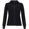 Анта (АНТ) 16648703-6 женской одежда трикотажных с капюшоном спортивной куртки спортивной Блузы Black XS основа блуза xs milano блузы в горошек