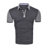 Мужские коротким рукавом рубашки ПОЛО вскользь хлопка футболки для мужчин женский кардиган 013a56