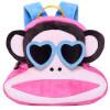 [Супермаркет] Jingdong Пол Франк (Пол Франк) мешок ребенка питомника пакет плеча очаровательны плюшевый ребенок рюкзак школьный розовый PKY2021A пол франк пол франк детский школьный портфель женский вскользь простой розовый рюкзак школьный pky2087b