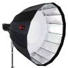 Kimbe 90 парашют глубокий рот софтбокс заполнять свет вспышка фотостудия студия зонт светоотражающее фотографическое оборудование мягкий свет съемка фотостудия оборудование