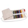 Faber-castell 50-луночный цветной точильный карандаш для ручек, рулонная ткань, холст, ручка, эскиз, цветной карандаш для карандаша