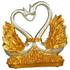 Цветы набор свадебного подарка ремесла украшения дома украшение украшение живые вход комнаты отправить друг отправить подруга концентрических роз корзина HS16B01S Silver Swan genius hs 300a silver
