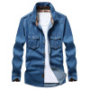 Men Dress Shirts Plus Size Long Sleeve Shirts Fashion Casual 100% Cotton Men Clothing