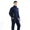 Playboy (Плейбой) HM6563033A мужских моды случайных любители спортивного костюма случайной куртка цвет синий M