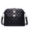 Коу Cnoles плеча сумки сумка женская сумка сумка Lingge маленький душистый ветер бордовый кожаные сумки B039