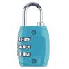 Цинковый сплав безопасности 3 Комбинация дорожного чемодана багажа Кодовый замок Навесной замок  замок навесной apecs кодовый 31х69 3 5мм