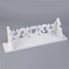 ПВХ доска Белый Вырезают Дисплей настенные полки стеллаж для хранения уступчика Home Decor S / M / L