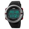 США время (SKMEI) Открытый спортивные часы Многофункциональные электронные часы 1219 черный бег трусцой