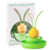 Маленькая малышка (KIDOKARE) детская посуда тарелка ложка вилка набор детская посуда набор свежий желтый + зеленый зеленый KK-07 посуда кухонная