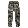 бермуды форменные Осень и зима Multi-карман Комбинезоны прямые брюки Мужские спортивные брюки форменные