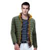 Пирр Кардин (Пирр Кардин) 23C3512 мужская мода стоячий воротник мужской двухсторонний носить короткий параграф Slim Down Army Green # 50 (175) утюг clatronic db 3512