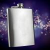 8 oz Liquor Stainless Steel Pocket Hip Flask Screw Cap 460263  цена и фото