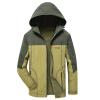 Модные мужские куртки Модные толстые с капюшоном повседневные спортивные куртки Осенняя одежда для мужчин куртки