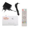 HD 1080P с VGA / Без VGA версии DVB-T2 TV Box приемник дистанционного управления 1080p hd dvb t2 dvb t smart tv box av to vga tv box hdmi vga av usb mpeg4 dvb t2 receiver turn computer to a tv set