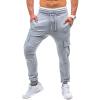 где купить Мужчины хлопок брюки повседневные ленты Спорт Длинные брюки по лучшей цене