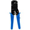 Regent (JH) 4047 Кристалл головы двойной сети телефонной сети телефонной сети плоскогубцами терминал зажим двойной сетевые телефонные плоскогубцы зажим синий + терминал kss pv2 7a 100pcs