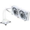 ID-COOLING ICEKIMO 240W Встроенный охладитель процессора с водяным охлаждением Полная платформа Double Row White White Special Edition