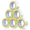 (Deli) 30205 высокая прозрачность уплотнительная лента 48 мм * 100y 6 томов / трубка лента уплотнительная