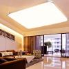 NVC (NVC) потолке гостиной лампы спальни лампа Светодиодная лампа современный минималистский моды яблочный монохроматический свет золотой прямоугольник (72W 6500K) [супермаркет] jingdong nvc nvc гостиной люстра ресторан люстра творческой минималистский люстра лампа 300 1200 led 15w