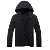 Модные мужские куртки Модные повседневные с капюшоном Спортивные куртки Классические толстые теплые осенние куртки Дешевая одежда спортивные куртки