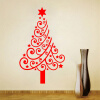 MyMei  Christmas Wall Stickers Home Decorations Christmas Present Vinyl Wall Decals For Bedroom Shop Window fashion letters and zebra pattern removeable wall stickers for bedroom decor