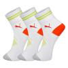 [Jingdong супермаркет] PUMA / Puma мужские носки спортивные состязания досуга носки три пары трубчатых означает белый Размер M-2921-3 носки kross prs tall размер m черный t4cod000275mbk
