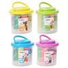 Утром (М & О) AKE04001 детские игрушки грязи цвета пластилина рук 9 игровые наборы цвет / цвет случайным образом корпус картриджа