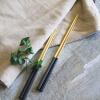 [Супермаркет] Jingdong Лилия Диор элегантные черные позолоченные палочки из нержавеющей стали две копии оптом из китая копии iphone