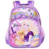 Барби (Barbie) Детский школьный школьный школьный женские модели простой мультфильм 2 - 5-й класс розовый рюкзак BB8090A дисней disney принцесса мультфильм рюкзак школьный 1 2 grade розовый школьный портфель db96133c